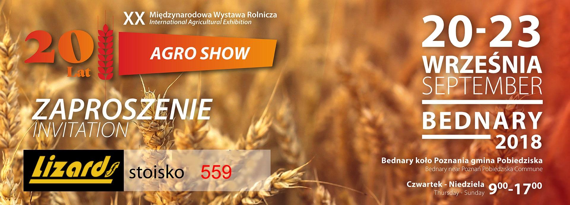 AgroShow2018_zaproszenie_Lizards
